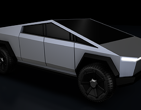 Tesla Cybertruck 3D future