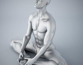Man yoga 013 3D printable model