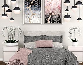 Bedroom set 9 3D model
