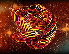 3D model Spiral Knot