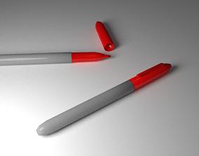 3D model Red Marker
