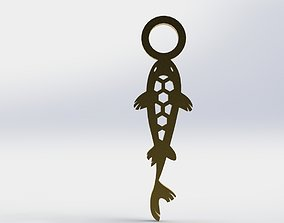 3D printable model Koi Pendant 2 Hive