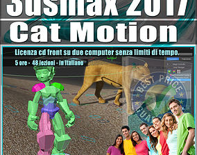 animated 007 3ds max 2017 Cat Motion vol 7 cd