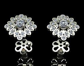 3D printable model Diamond Earrings gem