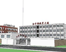 Region-City-School 06 3D model