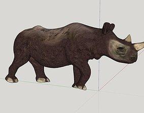 3D printable model Rhino