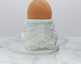 3D print model Egg Holder Helmet Starwars Storm Trooper