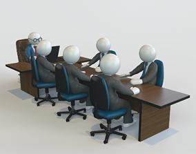 interior 3D model Conference