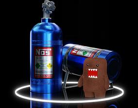 3D asset NOS - Nitrous Oxide System