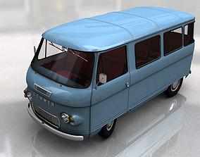 3D model COMMER 2500 BUS 1968