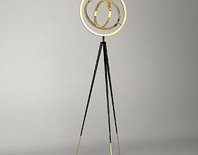 FLOOR LAMP CASSINI Eichholtz 3D