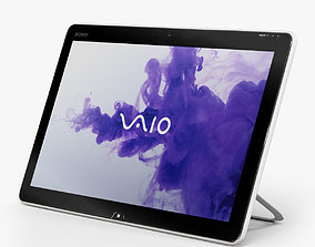 3D model Sony VAIO TAP 20 all-in-one PC