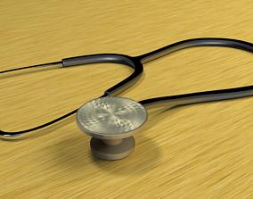 The stethoscope 3D model