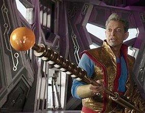 3D printable model Thor Ragnarok Grandmaster Melting Stick