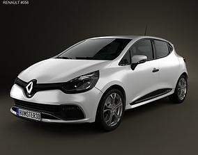 3D model Renault Clio IV RS 2013