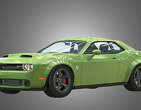 3D model SRT HellCat - Challenger 2021