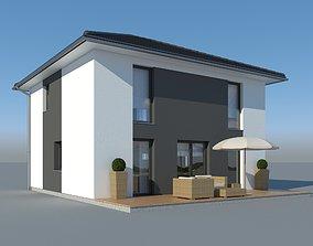 Family House 010 3D model