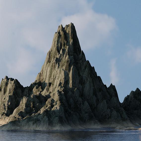 This procedural island