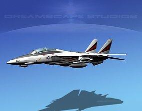Grumman F-14D Tomcat T10a vf154 3D model