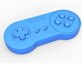 Old school game controller Scale 1 to 2 3D print model 1