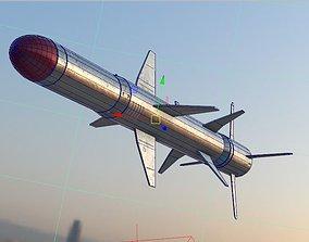 3D Basic Missile VR / AR ready