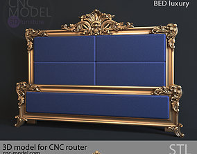 3D BED luxury for CNC router