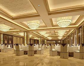 3D model Business Restaurant - Coffee - Banquet 101