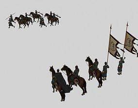 Ancient soldiers 3D animated