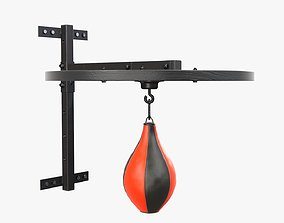 3D Punching bag on bracket