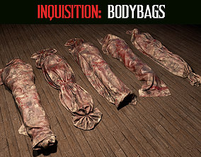 3D asset game-ready Inquisition - Bodybags