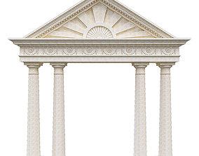 Pediment 3D model