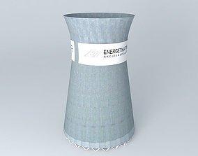 Energetika Trinec Cooling Tower 3D model