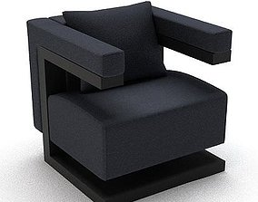 New Age Lounge Chair 3D