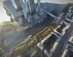 3D model realtime Moscow City