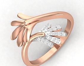 Women Ring 3dm render detail solitaire engagement-ring
