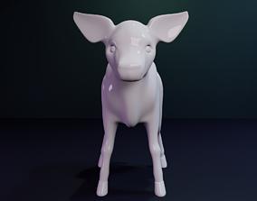 3D print model Cow Statue