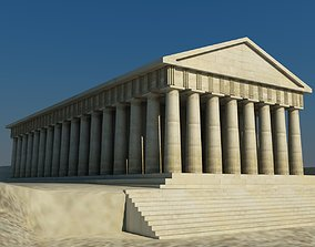 3D Parthenon architectural