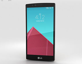 LG G4 Leather Brown 3D
