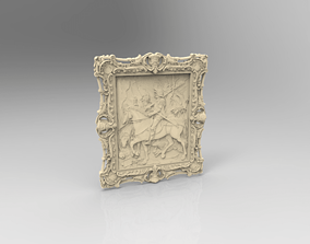 Sculpture abstract 3D print model