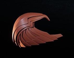 3D printable model Asteria Golden Armor Helm inspired by 2