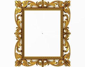 decoration Carved Picture Frame 3D model