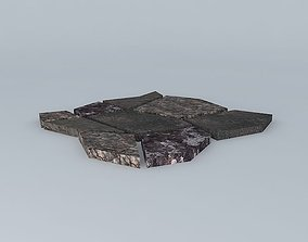 Paver Stone Path 3D model