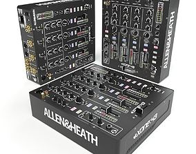 3D model AllenHeath XONE43