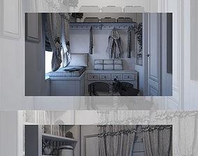 Hall house 3D model