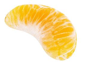 Tangerine slice 3D