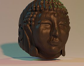 3D print model buddha ring
