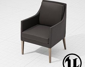 3D model Flexform Pat Chair UE4
