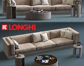 Fratelli Longhi MASON 3-Seates Sofa 3D