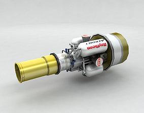 Exoatmospheric Kill Vehicle 3D model