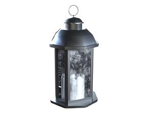 Lantern 2 of the 3 3D model
